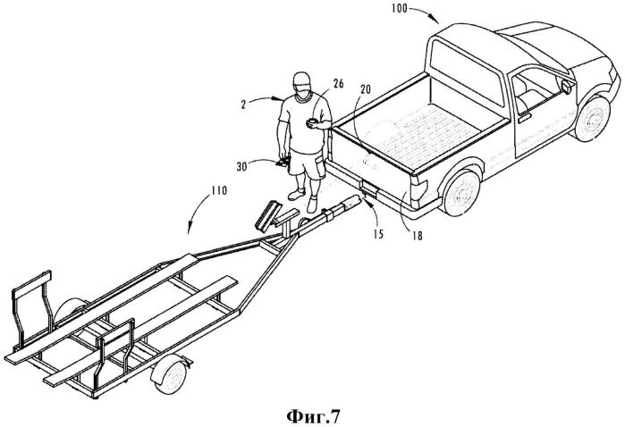 Система и способ контроля соединения транспортного средства с прицепом