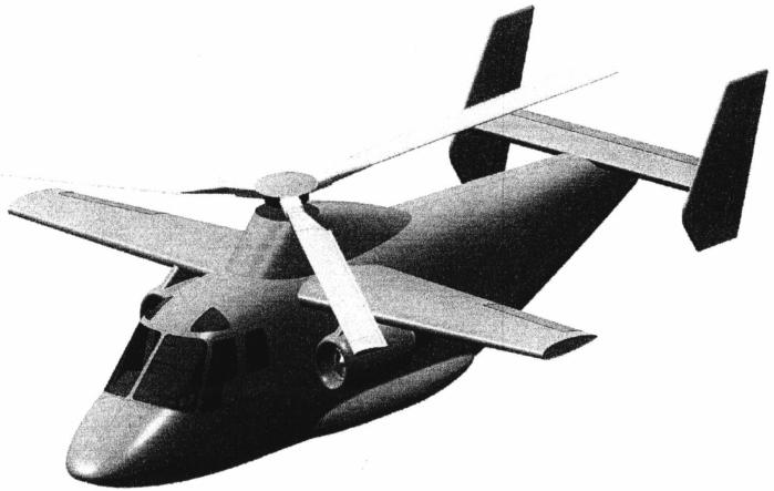 Вертоплан - скоростной винтокрылый летательный аппарат