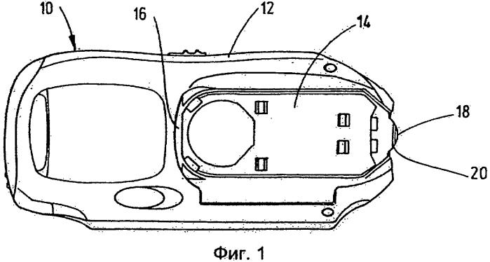 Кассета для контрольной ленты в комплекте с аналитической контрольной лентой