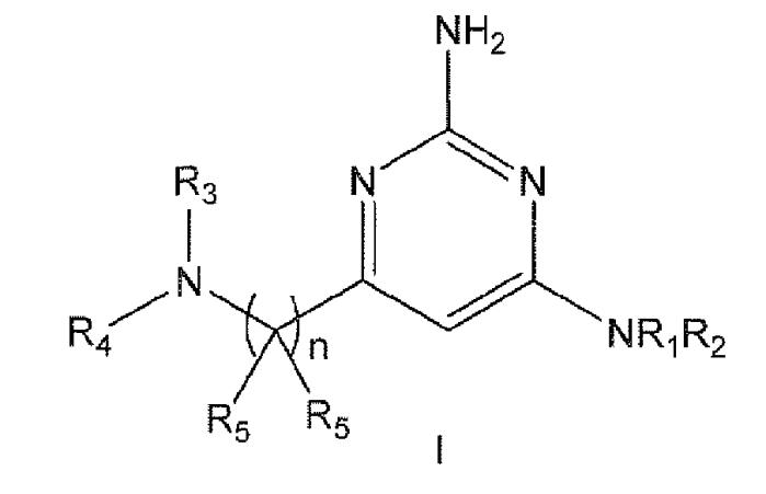 Производные аминоалкилпиримидина в качестве антагонистов h4 рецептора гистамина