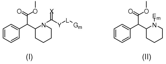 Пролекарства метилфенидата, способы их получения и применения