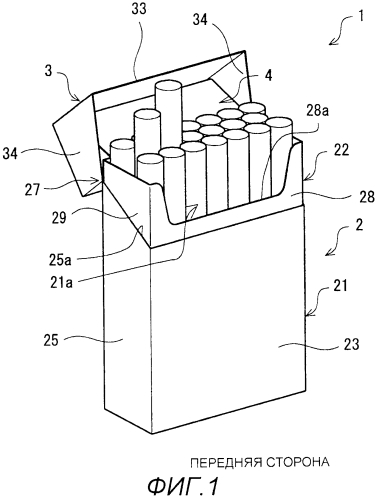 Упаковка коробчатого типа