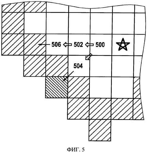 Способ и устройство для определения по меньшей мере одной вероятности выхода из района, идентифицируемого в цифровой карте как открытая местность