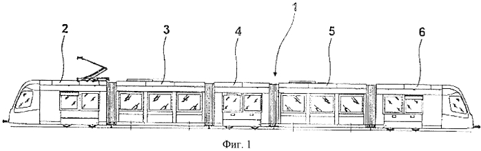 Расположенное в зоне крыши двух подвижно сочлененных частей транспортного средства устройство ограничения колебаний элементов транспортного средства относительно поперечной оси по отношению друг к другу