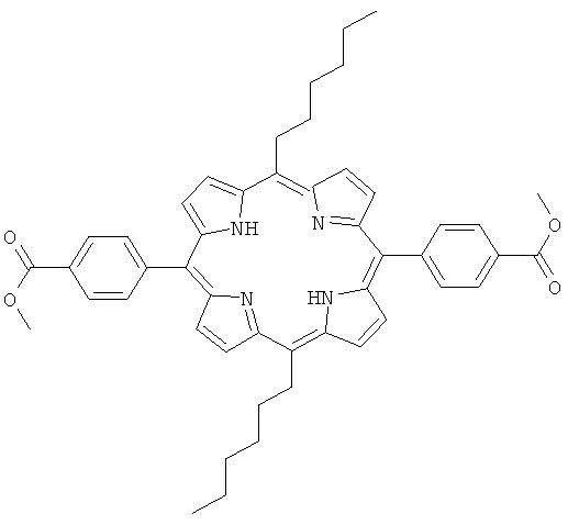 Новый способ и применение несимметрично мезо -замещенных порфиринов и хлоринов для фдт
