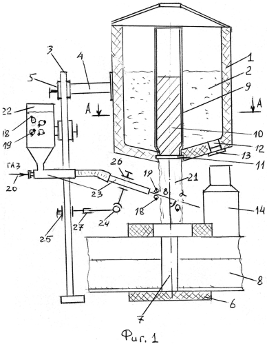 Способ алюминотермитной сварки рельсов и устройство для его осуществления