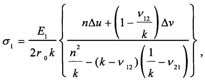 Способ определения остаточных напряжений в композиционных материалах