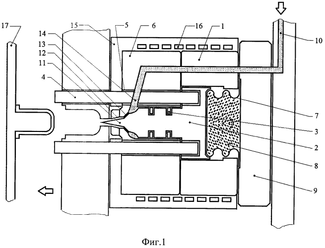 Самозапирающийся инжектор впрыска расплава полимера