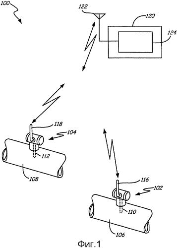 Беспроводное полевое устройство со съемным источником электропитания