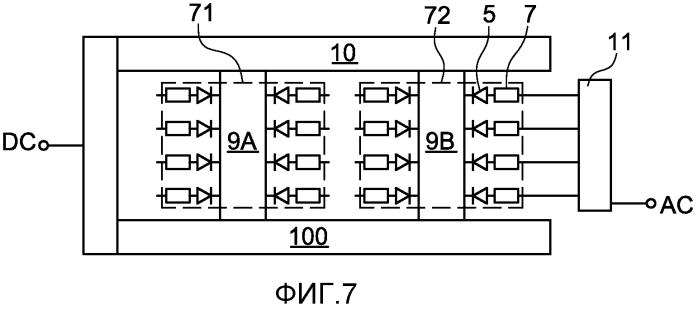 Архитектура компактного силового диодного/тиристорного выпрямителя