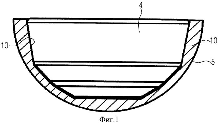 Монтажный инструмент для установки вкладышей в вертлужную впадину для эндопротезирования тазобедренного сустава