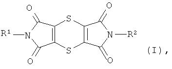 Способ синтеза дитиин-тетракарбокси-диимидов