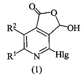 Способ получения алкилзамещенных 4-галоген-3-гидроксифуро[3,4-c]пиридин-1(3н)-онов