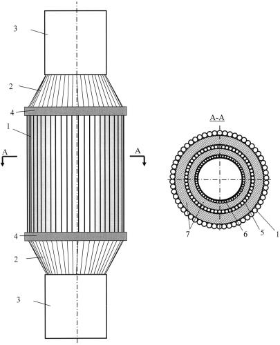 Спектрозональный позиционно-чувствительный детектор гамма-излучения