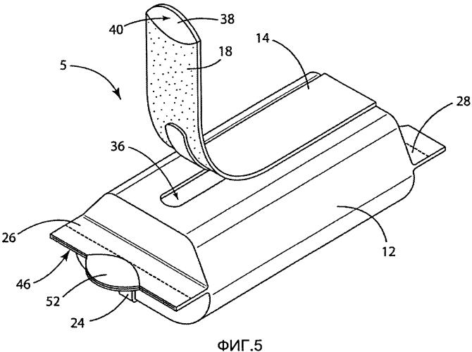 Повторно укупориваемая гибкая упаковка и способы ее изготовления