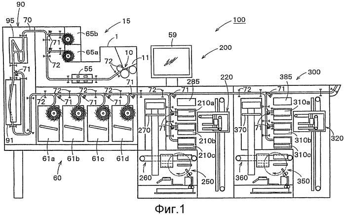 Система обработки бумажных листов и способ обработки бумажных листов
