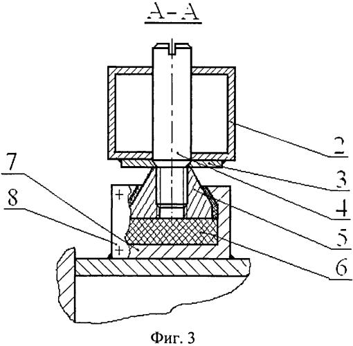 Энергопоглощающая опора кабины лесозаготовительной машины