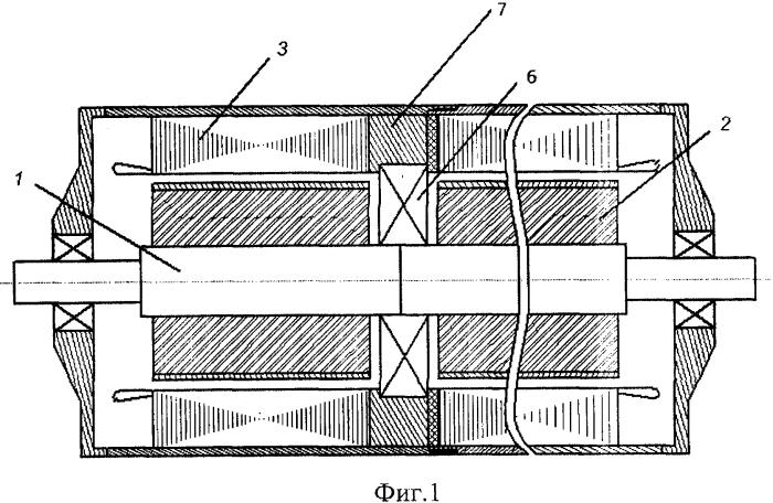 Многосекционный синхронный двигатель