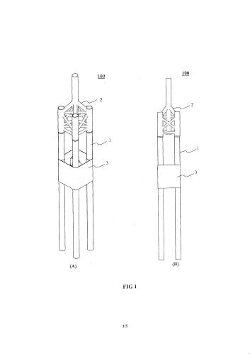 Защитные конструкции водоотделительной колонны