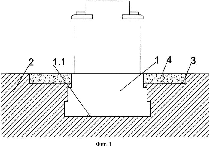 Способ защиты бетонного фундамента от воздействий сил вспучивания замерзшего грунта