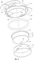 Коллектор и узел распределительного коллектора для захваченного воздухом материала