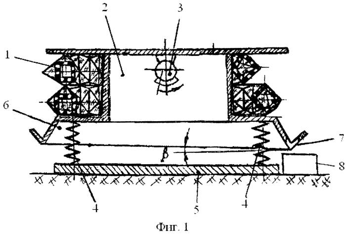 Агрегат непрерывного действия для обезвоживания материалов