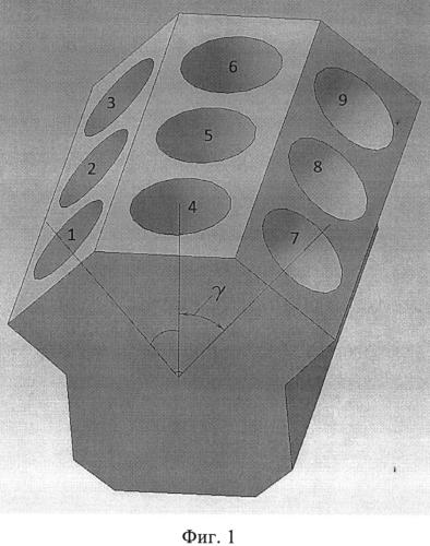 Двигатель внутреннего сгорания с кривошипно-шатунным механизмом типа w9