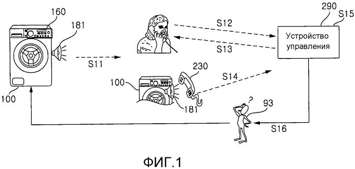 Бытовое устройство и способ вывода звукового сигнала для диагностики