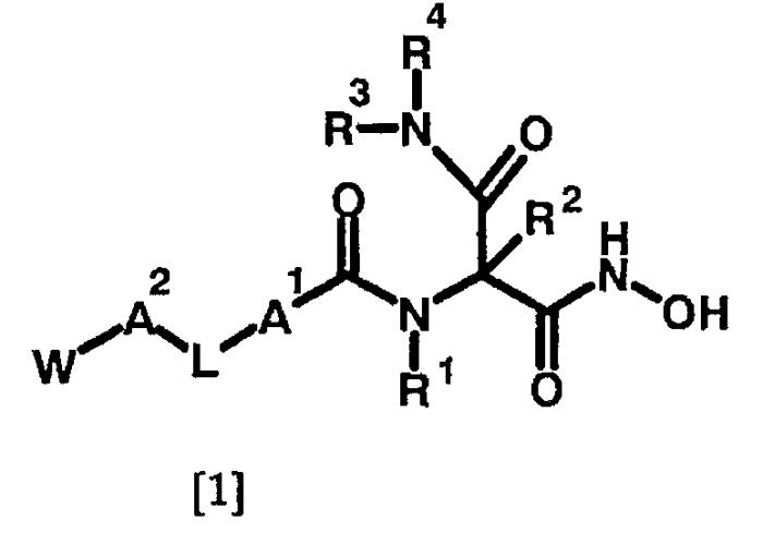 Новое производное гидроксамовой кислоты