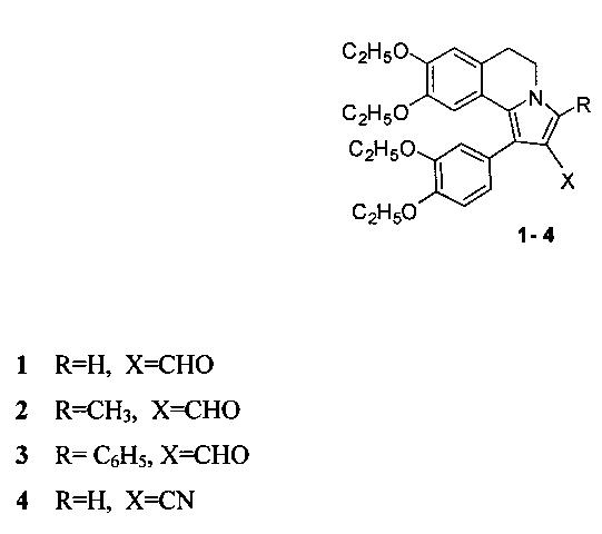 Способ получения производных 5,6-дигидропирроло[2,1-a]изохинолинов, содержащих в положении 2 функциональную группу