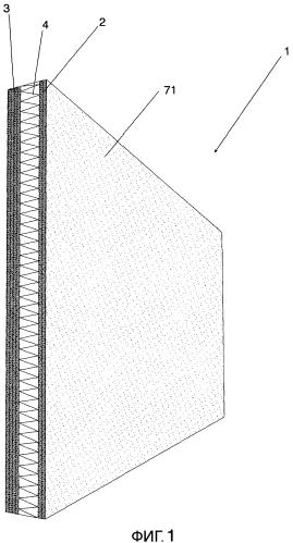 Композитный элемент и древесный стеновой блок