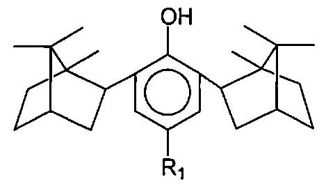 Производные 2,6-диизоборнилфенола