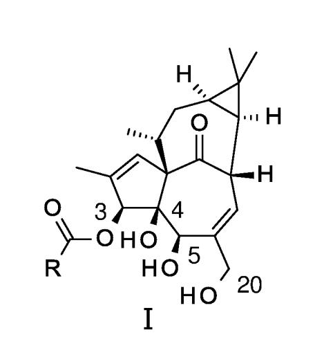 Ингенол-3-ацилаты i