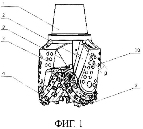 Трехшарошечное буровое долото для горизонтальных скважин и скважин в твердой породе