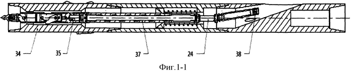 Инструмент бокового отбора керна во время бурения