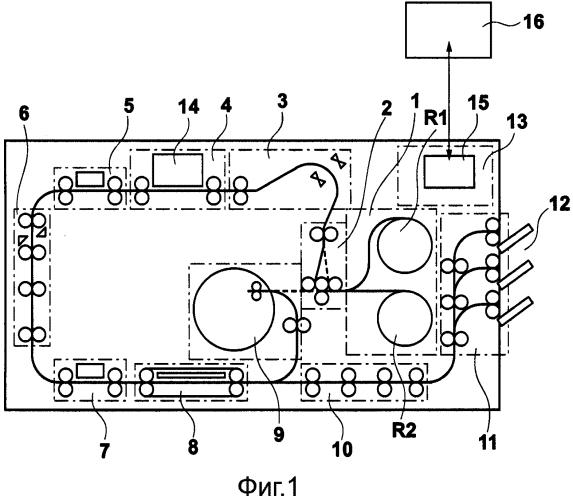 Элементная подложка, печатающая головка и печатающее устройство