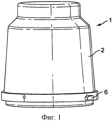 Система из контейнера для хранения и дозирования продукта и аппарата для дозирования продукта