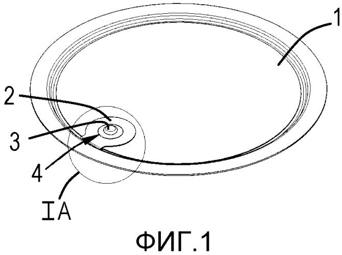 Фольга для закрывания отверстия емкости, а также способ и устройство для ее изготовления