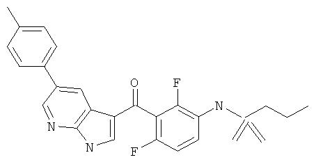 Новые способы получения пропан-1-сульфоновой кислоты {3-[5-(4-хлор-фенил)-1н-пирроло[2,3-b]пиридин-3-карбонил]-2,4-дифтор-фенил}-амида
