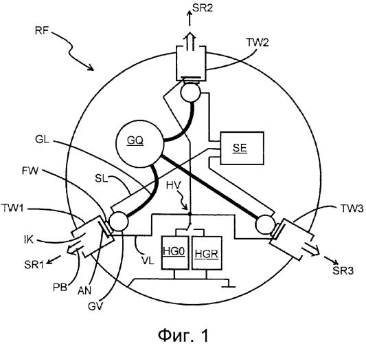 Система привода в космическом аппарате
