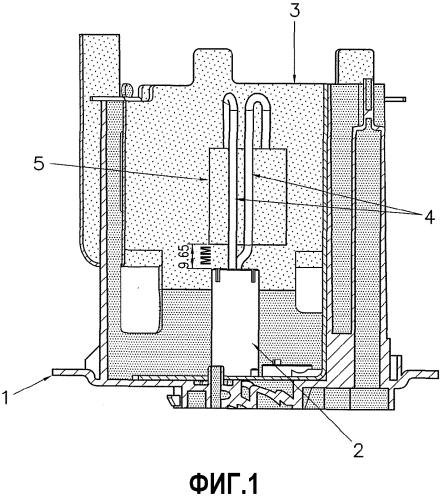 Резервуар для хранения присадки для отработавших газов двигателя