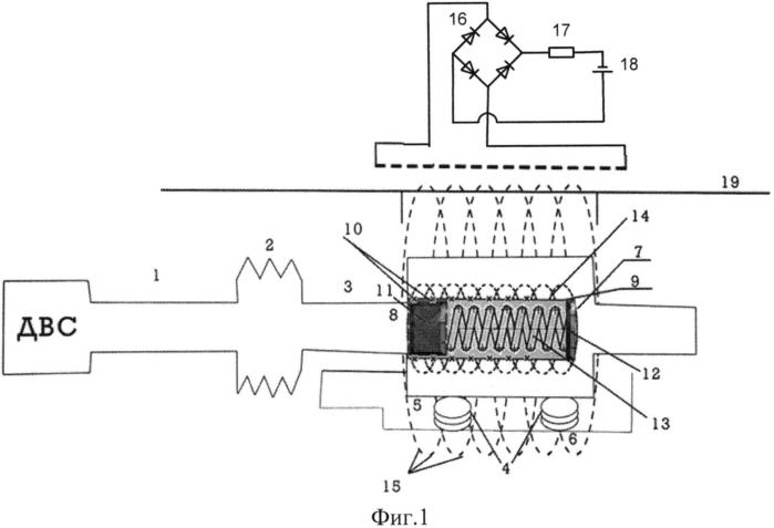 Двухконтурный акустоэлектрический глушитель шума