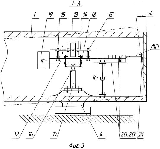 Устройство для измерения силовых деформаций станины координатно-расточного станка