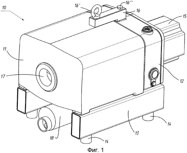 Вакуумный насос вакуумной упаковочной машины