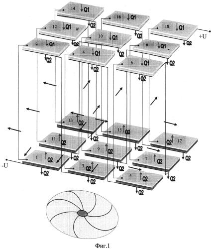 Термоэлектрический генератор с высоким градиентом температур между спаями