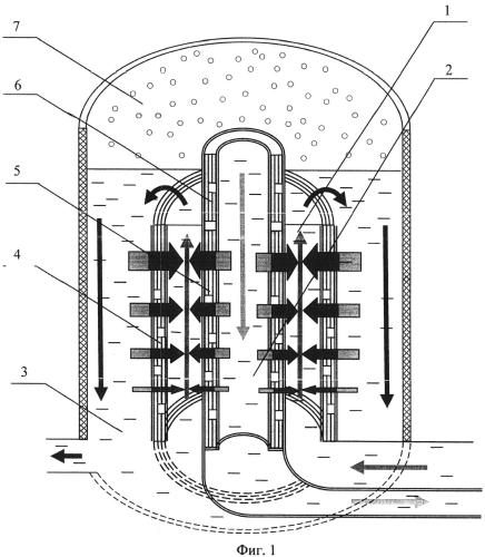 Способ опреснения морской воды при помощи тонкопленочного полупроводникового термоэлектрического теплового насоса цилиндрической формы
