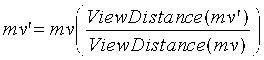 Предсказание векторов движения при кодировании видео