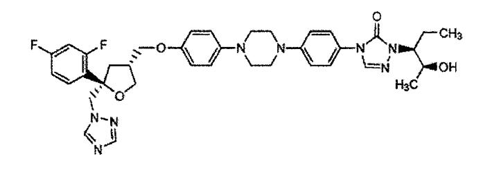 Составы внутривенных растворов позаконазола, стабилизированные посредством замещенного бета-циклодекстрина