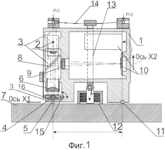 Способ измерения относительной продольной деформации поверхности и экстензометр для его осуществления