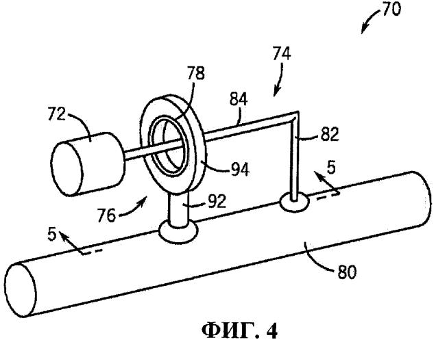Подавляющее устройство для подавления вибрации с регулируемым грузом и вязкоупругим материалом